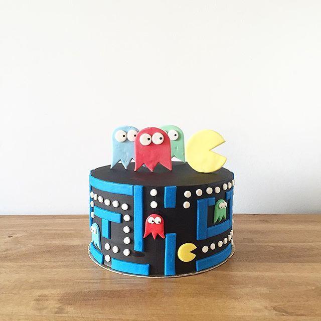 • Pac-Man Cake • Pedidos y consultas contacto@kekukis.com.ar #pacman #cake…