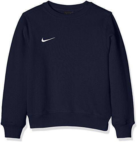 Nike Pull à manches longues pour Enfant Mixte – Bleu (ObsidianFootball White)