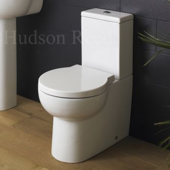 Create a smart, contemporary look with the Hudson Reed Langdon flush to wall toilet