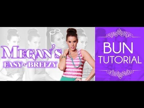 Megan is back with another hair tutorial.  Today, she shares a quick and easy bun tutorial, as well as a DIY bun-maker -   Music By :   Discotraxx  -  Ladytron  -  from the album 604