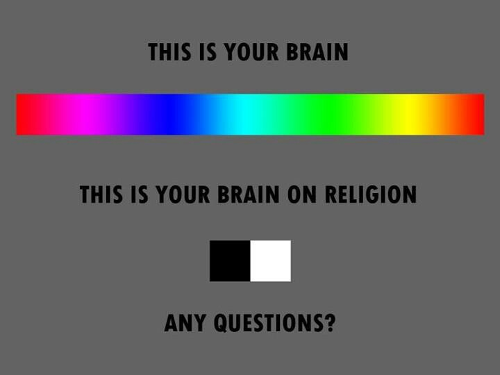 This is your brain on religion. ~cough cough republicans~