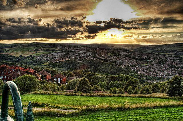 Stannington from Bolehill Park, Crookes, Sheffield by Paolo Margari, via Flickr