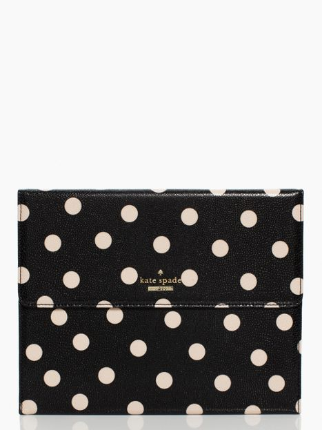 Cedar Street Dot iPad Case - Comes with a keyboard!!! - Kate Spade NY