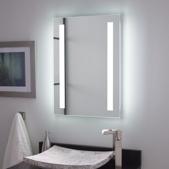 Signature Hardware Darby LED Light Mirror