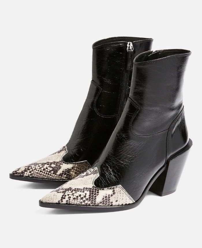 Topshop Howdie High Ankle Boots | High