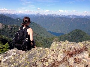 Hiking trails at Mount Seymour in North Vancouver, BC, Canada