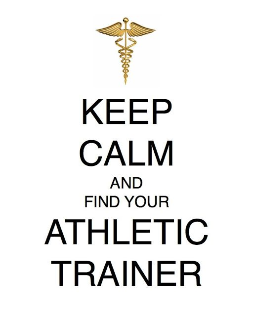 Woodallu0027s Law Keep Calm and Find Your Athletic Trainer Athletic - head athletic trainer sample resume