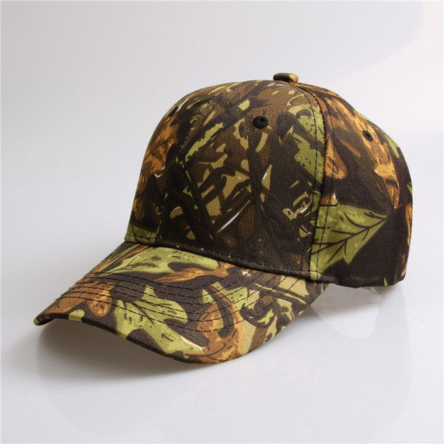 Army Camo Cap - 50% Off - Don't go fishing without your cap. BE PREPARED for all situations!  Made from premium, high quality material.  Very Popular - Will sell out fast!