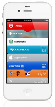 """Apple's new Passbook application is all set to shake up mobile banking and payments. The coolest thing about Passbook? It will AUTOMATICALLY open your virtual payment card (e.g., your Starbucks card) when you walk into a store. This means a huge opportunity for banks and card issuers to partner directly with retailers to become the preferred """"Passbook card"""" for their store. Also a new way for mobile offers/coupons to be presented to customers when they enter a store.  It'll be interesting to…"""