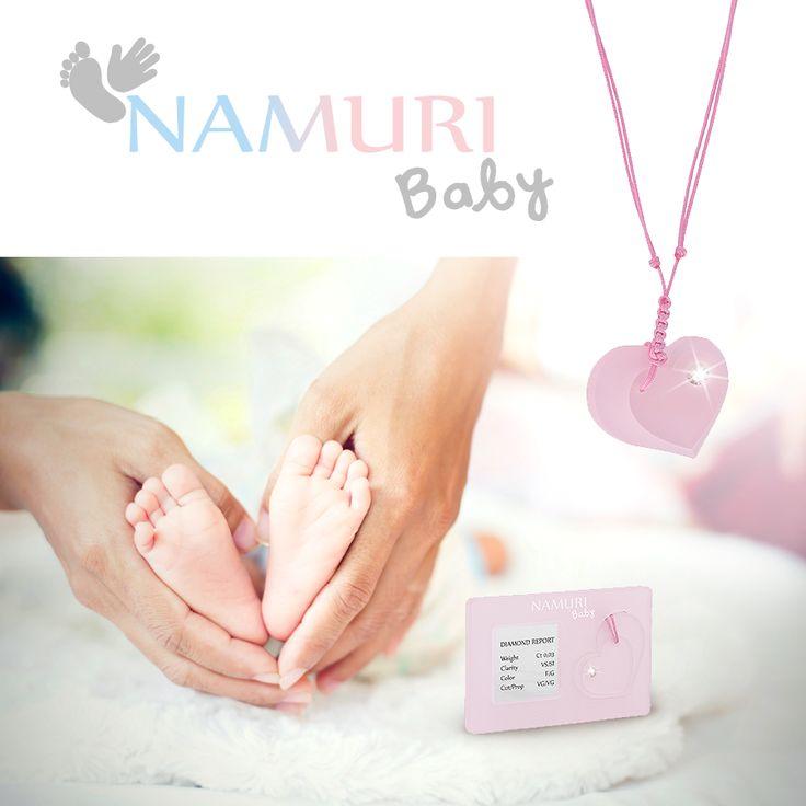 Namuri Baby - Regala il primo diamante di Namuri Baby per il suo primo sorriso. Scopri le collezioni su https://essegioielli.itcportale.it/