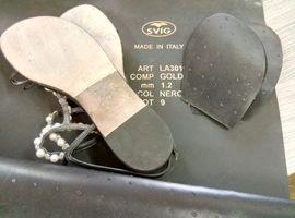 Реставрация обуви, Итальянская профилактика SVIG на кожаную подошву.