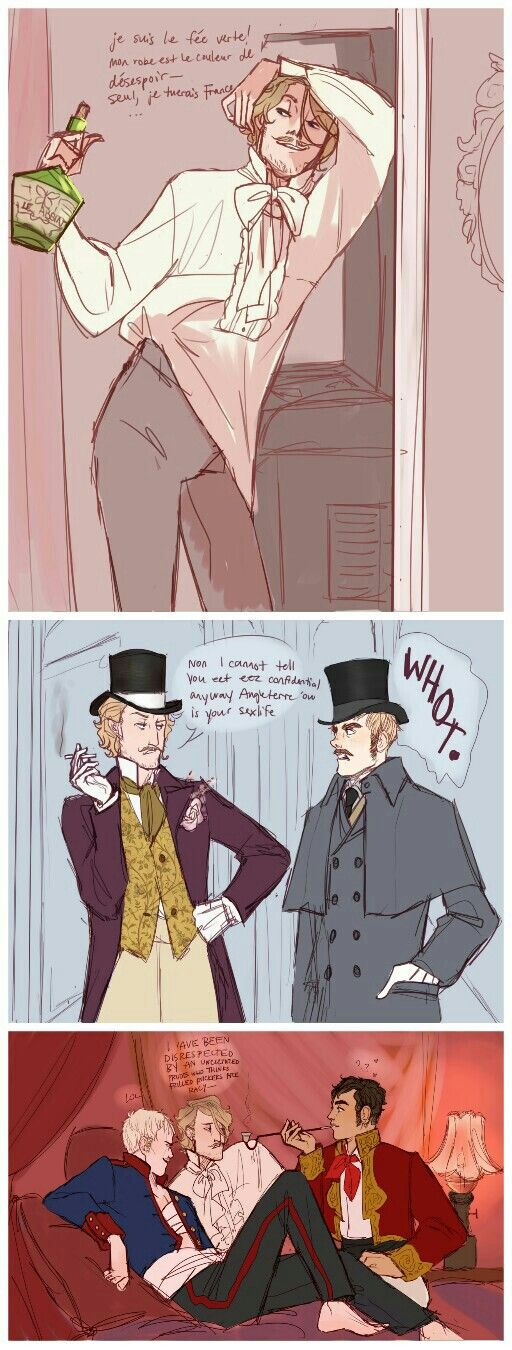 Bohemian France with a moustache ✨---- Is that... is that a refrence to The Room....? Like, for real?