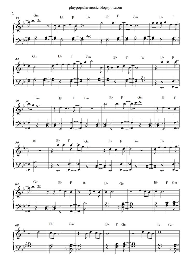 13 best sheet music images on Pinterest | Free piano sheet music ...