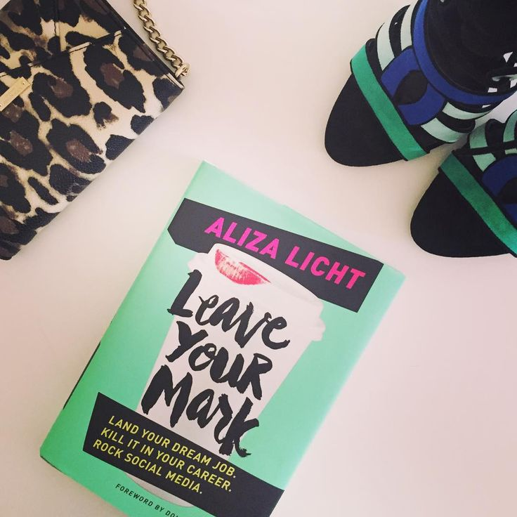 Reading #LeaveYourMark by @alizalichtxo this week and I'm overwhelmed with inspiration and motivation. This is a must-read for anyone who wants to get ahead in their career (especially fashion). #book #reading #flatlay #fbloggers #bbloggers #career #fashion #style #love #shoes #leopard #bag #inspiration #colorful
