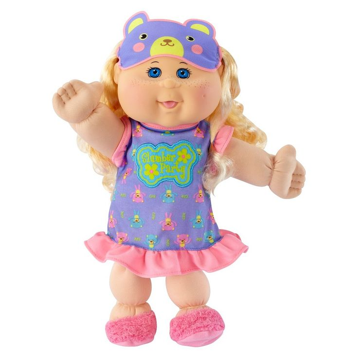Cabbage Patch Kids 14 Kids Glow Party Caucasian Girl with Blonde Hair