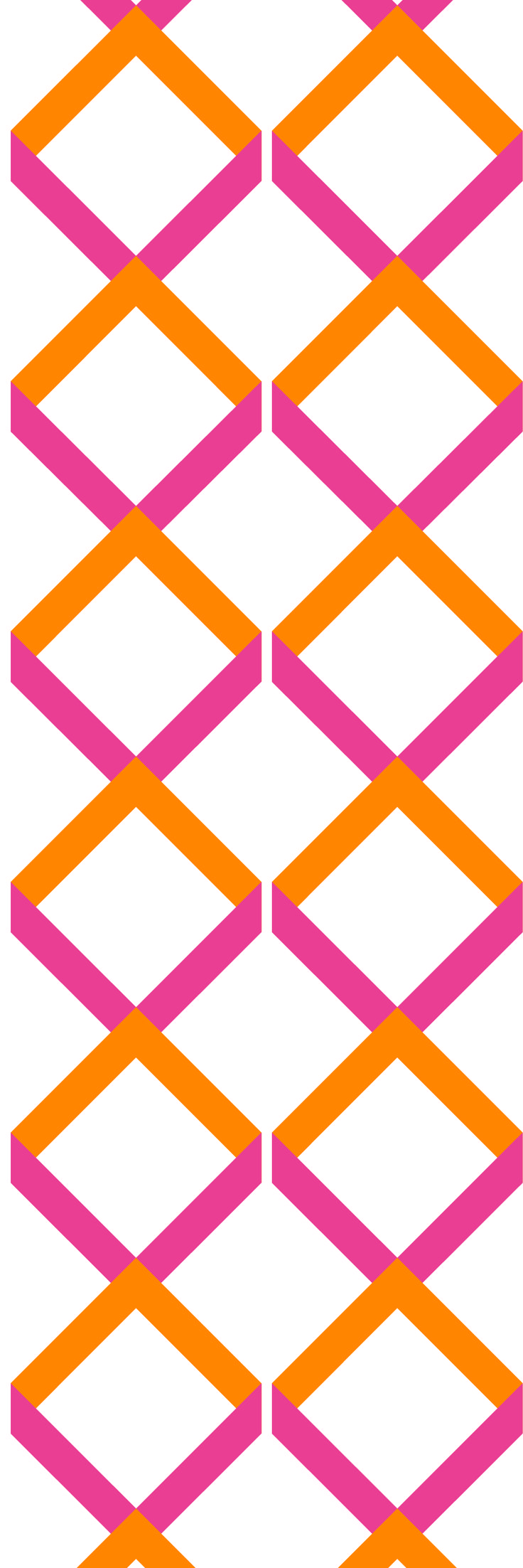 Custom printed wallpaper from the 'SUMMER BRIGHTS' colour range #wallpaper #bespoke  #muurgraphics