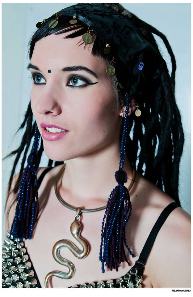 Dread lock, Cleopatra inspiration