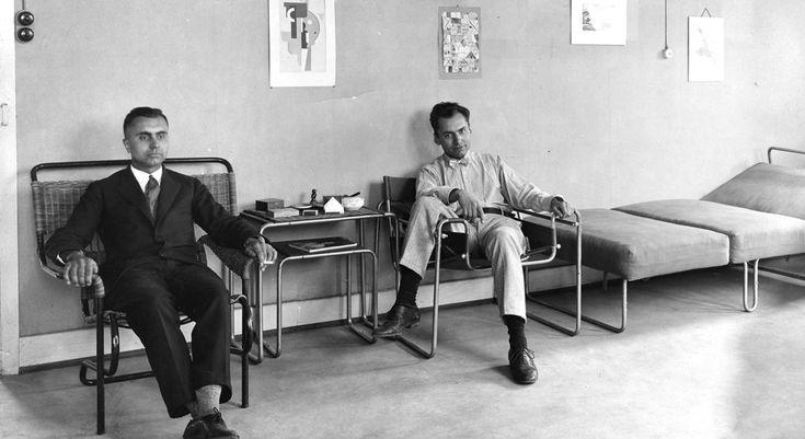 Bodo & Heinz Rasche, 1927. Atelier Stuttgart. © Kragstuhl-Museum, Tecta-Archiv