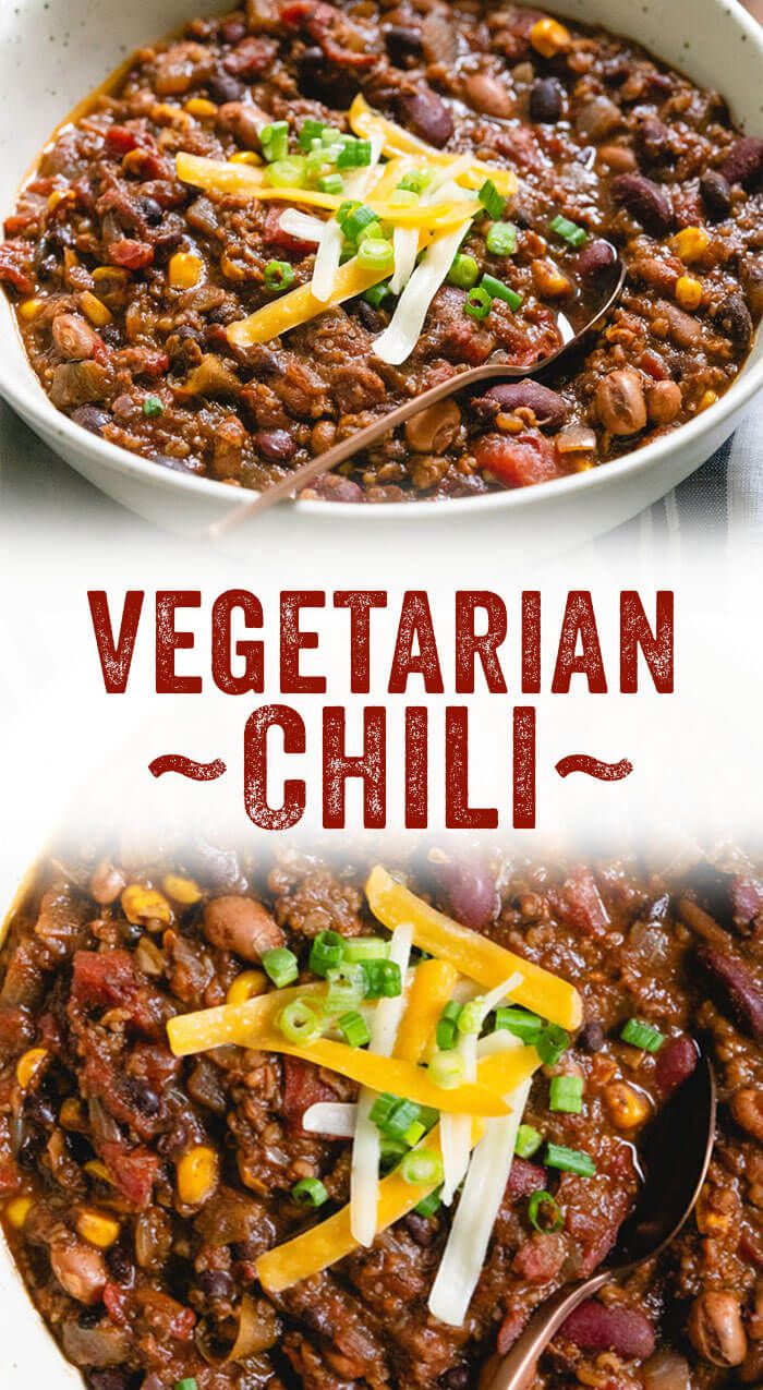 Vegetarian Chili All Of Our Best Secrets A Couple Cooks Recipe Tasty Vegetarian Recipes Vegetarian Chili Recipe Vegan Chili Recipe