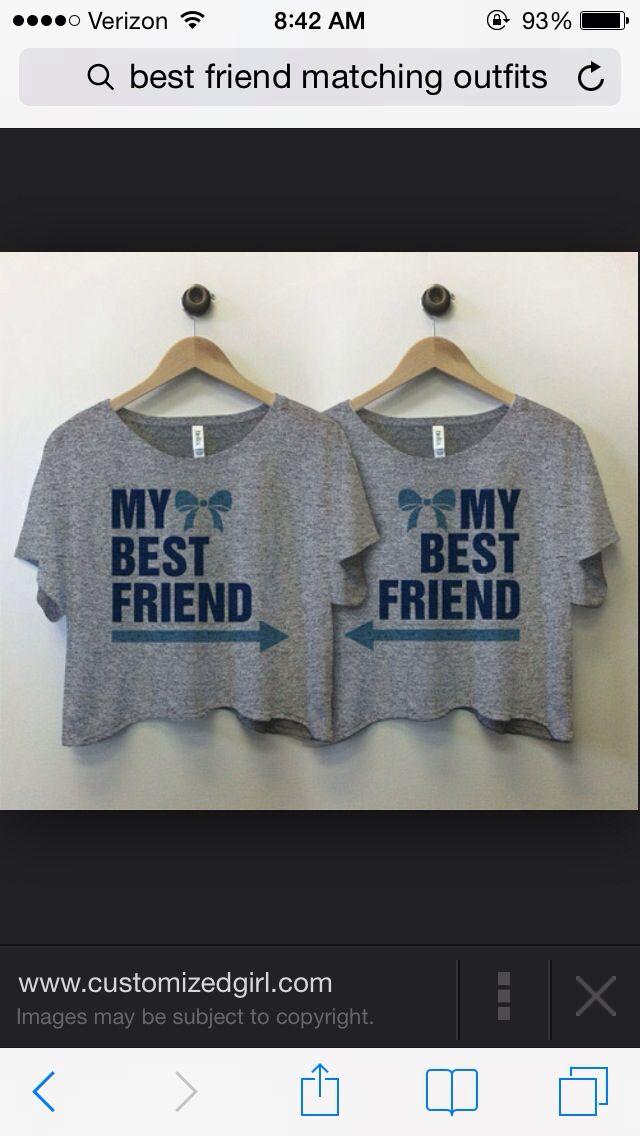 Bestfriend shirts