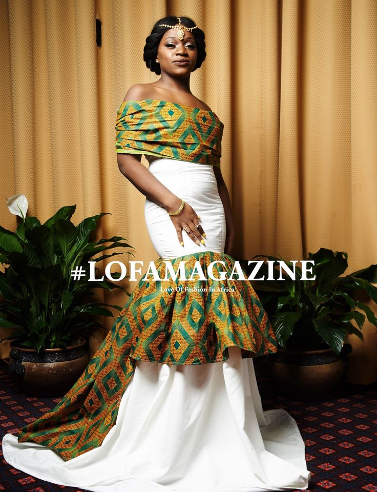 African Print Mermaid Evening Dresses – Fashion design images