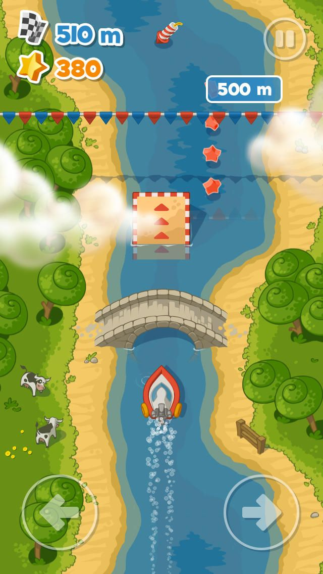 Happymagenta Ltd. | Games | iPhone | Little Boat River Rush $0.00 | ver.1.0.1| $1.99 | Start the journey of a lifetime on a high-speed river ride into the world of eternal summer. Feel the power of water, hop into your boat and get ...