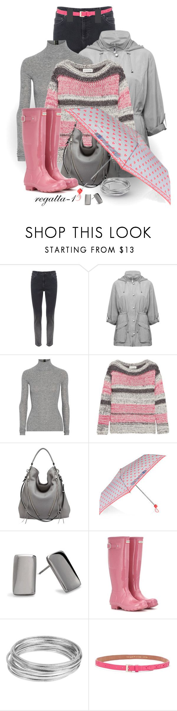 """""""Rainy Day"""" by regatta-1 ❤ liked on Polyvore featuring Mint Velvet, M&Co, T By Alexander Wang, Étoile Isabel Marant, Rebecca Minkoff, Accessorize, Chico's, Hunter, Worthington and Kate Spade"""
