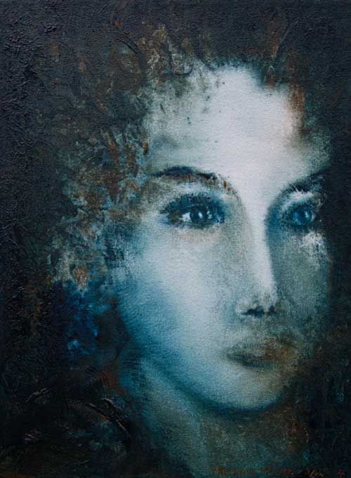 """Lady Lisa My Lisa""by Melanie Meyer from her Emergence Art Gallery in Cape Town"