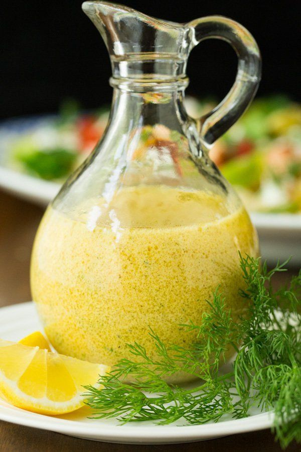 Lemon Dill Dressing