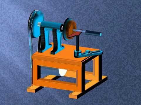 mesin bubut kayu mini