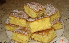 Túró helyett reszelt almával is el lehet készíteni.(Kavart almás) A tésztához: 35 dkg cukor 4 tojás 25 dkg margarin 1 csomag vaníliás cukor 45 dkg liszt 1 csomag sütőpor 2 dl tej A töltelékhez: 50 dkg finom túró 1 citrom reszelt héja 1...