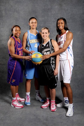 Cappie, Dupress, Hammon, Cash WNBA