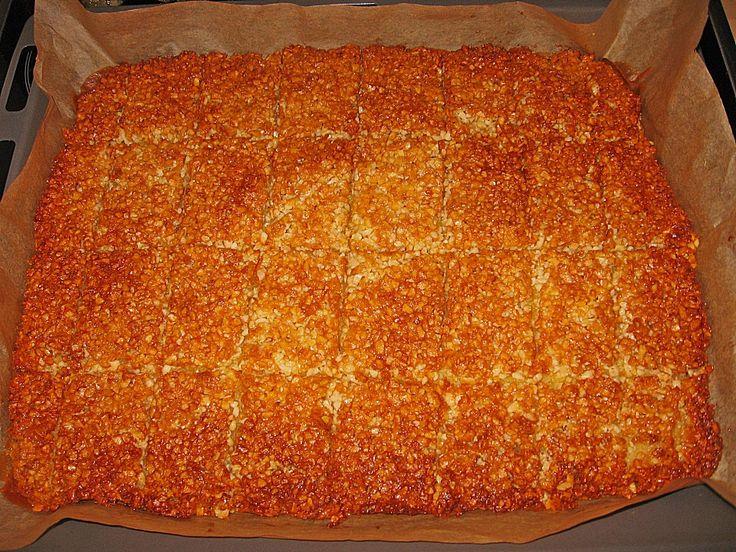 Schneller Mandelkuchen vom Blech