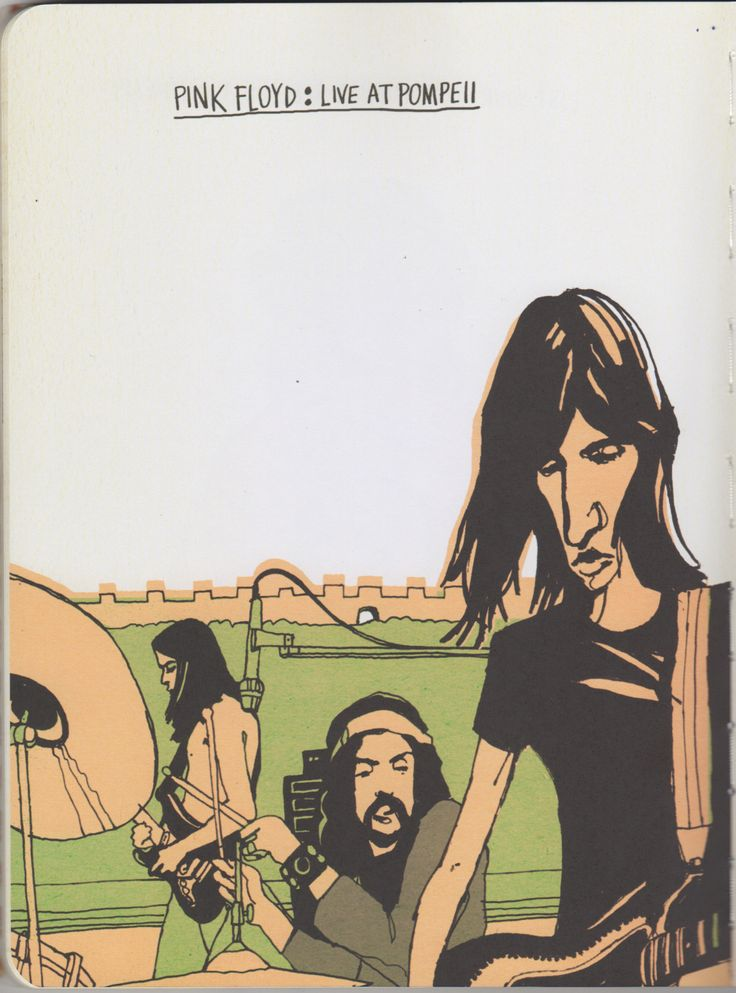 The Illustrated Pink Floyd.