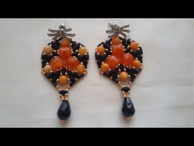 Tutorial orecchini per  Halloween