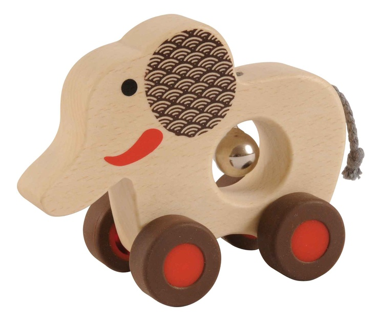 Tiger Tribe: Baby Bell Roller – Elephant