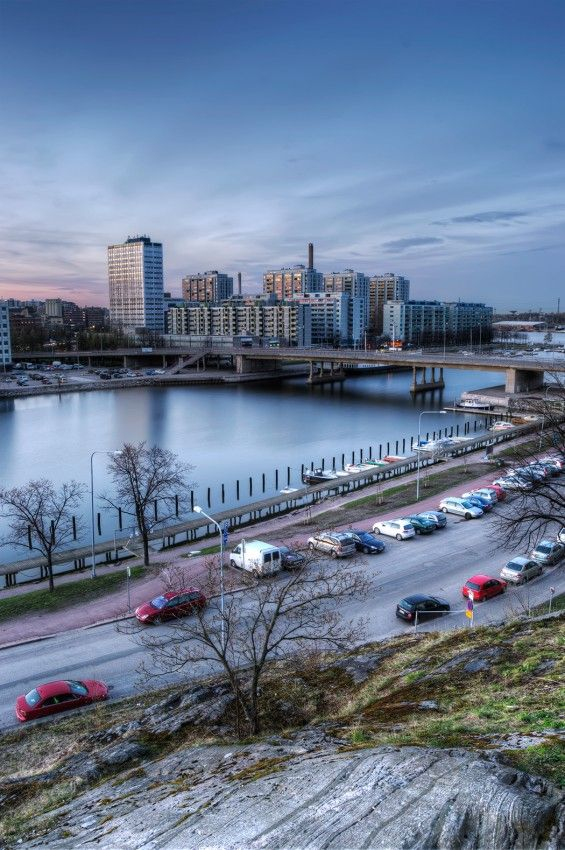 HDR in Helsinki: The Ugliest Sorry all of you living in Merihaka district. Your neighborhood is the ugliest one in Helsinki.