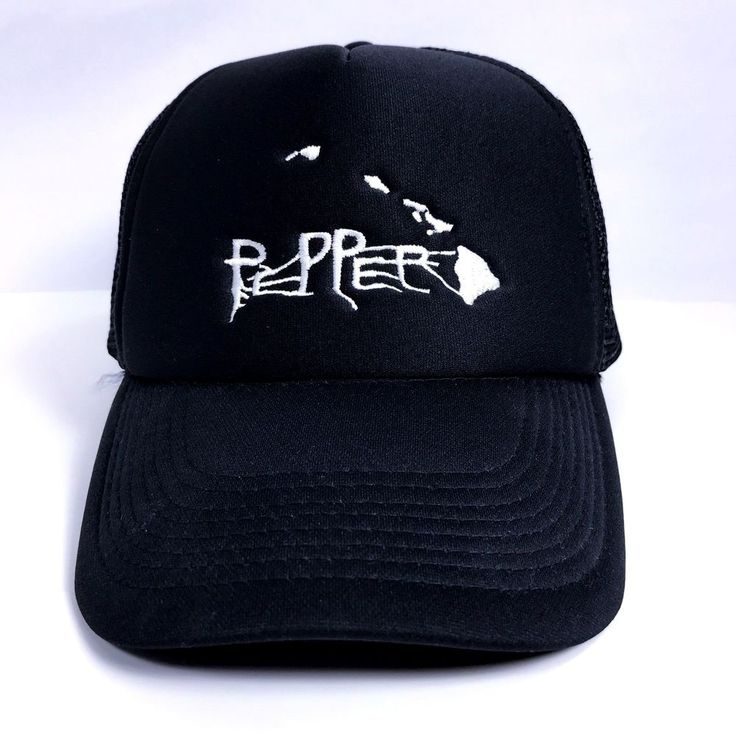 Pepper Trucker Hat Hawaiian Islands Ska Reggae Rock Alternative Music Band  | eBay