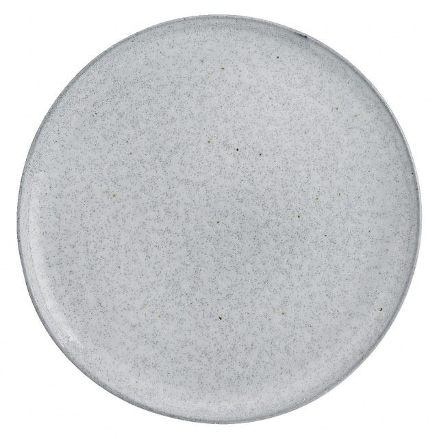 The Maddox grey side plate has a reactive glaze that gives it distinctive 'salt and pepper' speckles.[br]Made in Portugal from stoneware and exclusive to Habitat, the plate is suitable for everyday use and, due to the nature of the glaze, each piece is unique.[br]The Maddox range includes a dinner plate, pasta bowl and a mug, which are also available in blue, together with a 12-piece dinnerware set.