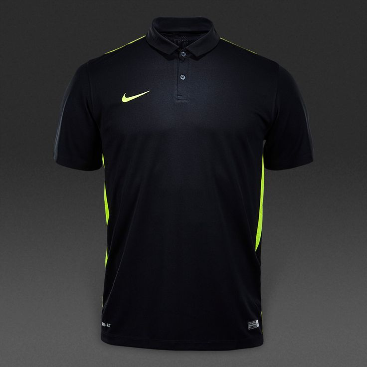Nike Challenge SS Jersey - Black/Volt