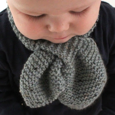 Free Knitting Pattern For Baby Scarf Baby Pinterest