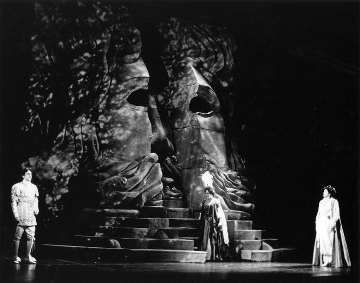 Idomeneo, Rè di Creta. National Arts Centre Opera. Scenic design by Josef Svoboda. 1981
