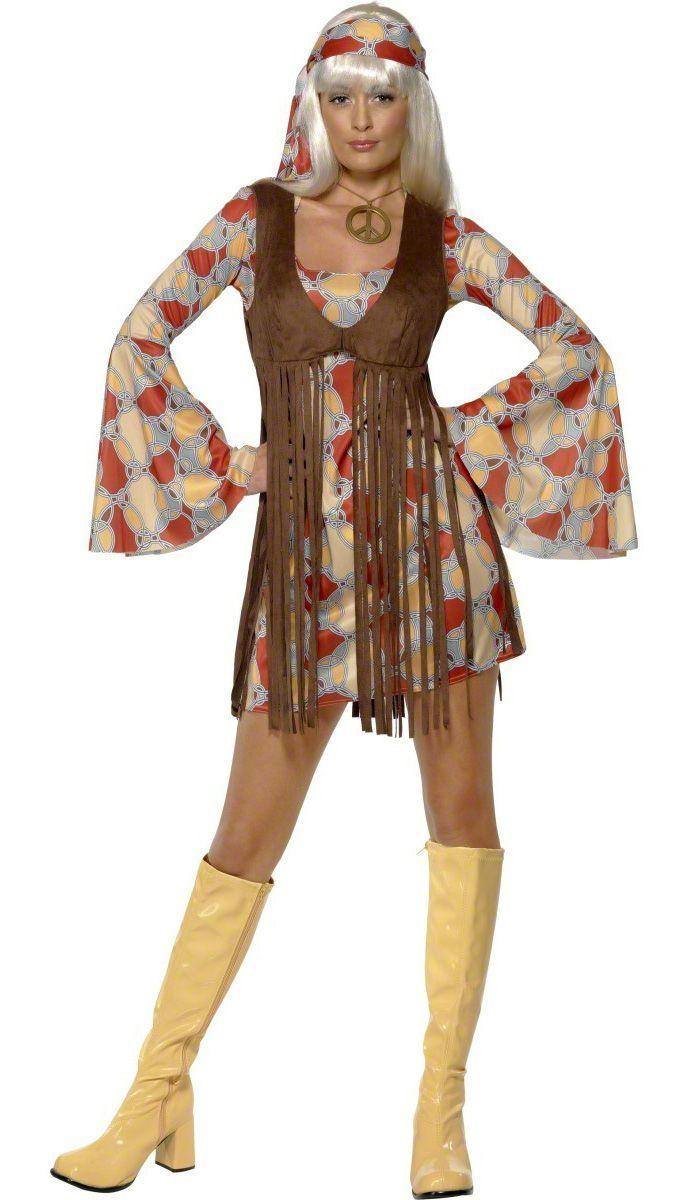 Jaren 70 pak voor dames : Vegaoo Volwassenen Kostuums