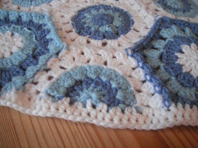 Dotty Textiles: Half Hexagon Crochet Shapes