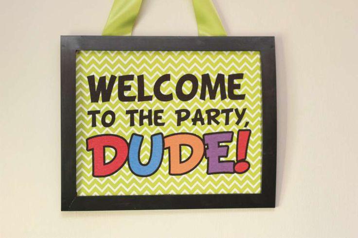 Teenage Mutant Ninja Turtles Birthday Party Ideas | Photo 3 of 47 | Catch My Party
