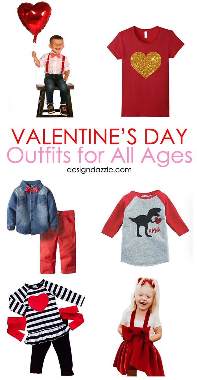 Valentine S Day Outfits For All Ages My Funny Valentine 3