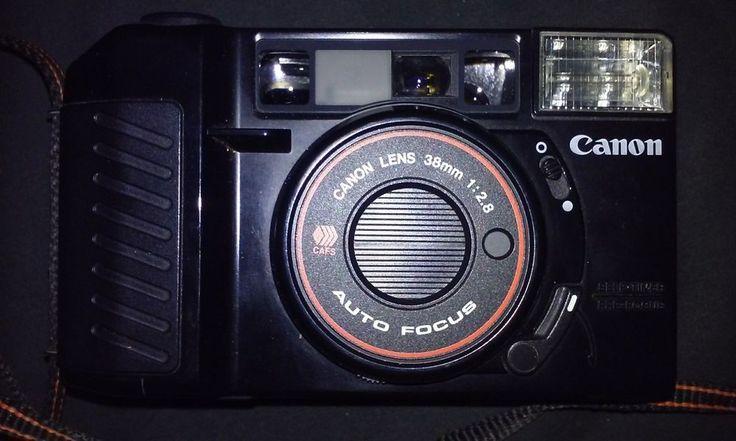 Canon Japan Self Timer Pre Focus Sure Shot Auto Focus CAFS Canon Lens 38mm 1:2.8  #Canon #japan #canonjapan #38mm #camera #lens #photography #photo #film #vintagecamera #vintagecameras #autofocus #art #pictures #photographer #vintagecam #oldphotos #polaroid #polaroids #flash #graphic #graphics #graphicdesign #rarecameras #selfie #selfies