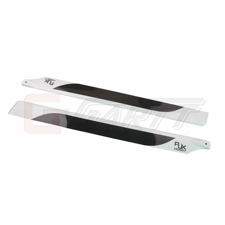 GARTT RJX High Quality Carbon Fiber Main Blades (690mm)  for 700 RC helicopter
