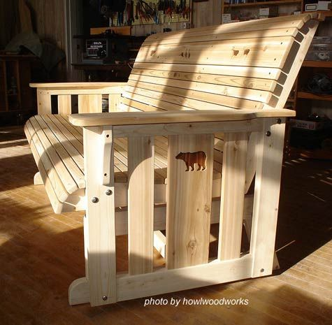Lawn Glider Swing Plans Free Woodworking Projects Amp Plans