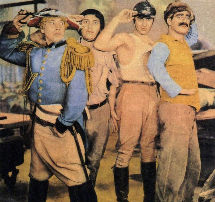 """Los Hermanos Marx en """"Sopa de Ganso"""", 1933"""